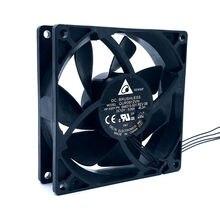 Новый DELTA QUR0912VH 9 см 92 мм 92*92*25 мм 12 В 0.60A 4 линии ШИМ большой объем воздуха компьютер вентилятор радиатора CPU мини вентилятор водяного охлаждения