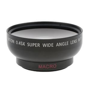 Image 2 - 43 مللي متر 0.45x زاوية واسعة عدسة مع ماكرو لكانون نيكون سوني بينتاكس 52 مللي متر موضوع DSLR كاميرا