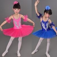 Children S Swan Costume Kids Ballet Dance Costume Stage Professional Ballet Tutu Dress For Girl 3