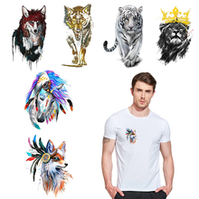 Iron-on Patches for Clothing Cartoon Stickers on Clothes DIY Badges Heat Transfer Girl T-shirts Appliques Wholesale