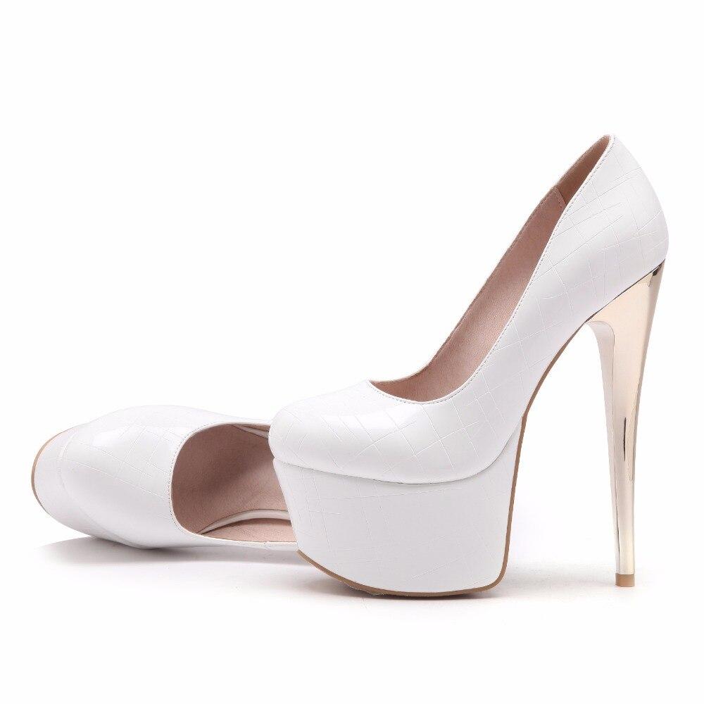 Gris 2018 White Plate Furtado Arden Noir Rose Automne Printemps Nouveau Style Pompes Stilettos On forme grey Haute Slip black Cm Talons Chaussures pink Blanc 16 Femme qRwA5