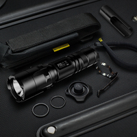 Discount NITECORE P20 800 Lumens Strobe Ready Waterproof Tactical Flashlight Without 18650 Battery Outdoor Camping Hunting Torch