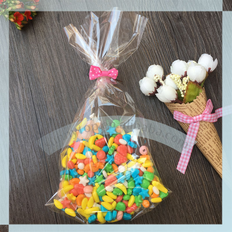 castpp bottom gusset bag 145x235mm christmas bag cookie bag christmas cellophane bags in storage bags from home garden on aliexpresscom alibaba