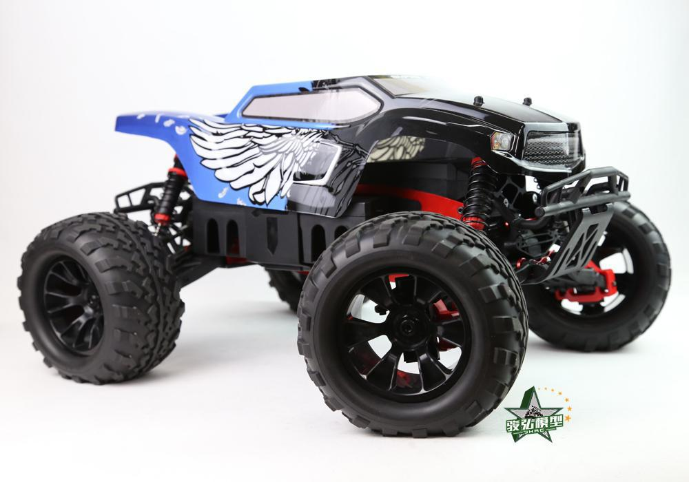 Tyrant   1:8 Scale Waterproof 4WD Off-Road High speed electronics remote control Monster Truck,rc racing cars sst racing expedition xmt 1 10 scale go 3 3cc nitro engine power 4wd off road monster truck high speed rc car for hobby