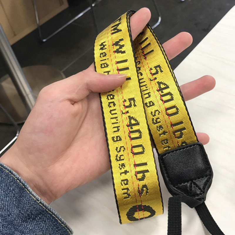 High Quality Off White Neoprene Neck Strap for Canon Nikon Pentax Sony Fuji Olympus Camera Yellow/Silvery/Black/RED/Blue
