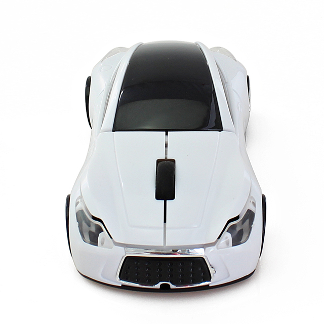 Infiniti Sports Car 2.4GHz Wireless Mouse Gaming Mouse Gamer 1600DPI Optical Gamer Mause Sem Fio Gaming Mause for Computer PC