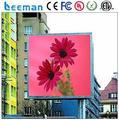 Leeman CE RoHS ETL led de tela de parede ao ar livre grande P4 P5 P6 SMD P10 ao ar livre led P3 P4 P5 P6 P7.62 P8 P10