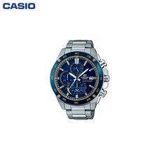 Наручные часы Casio EFS-S500DB-2A мужские с кварцевым хронографом на браслете