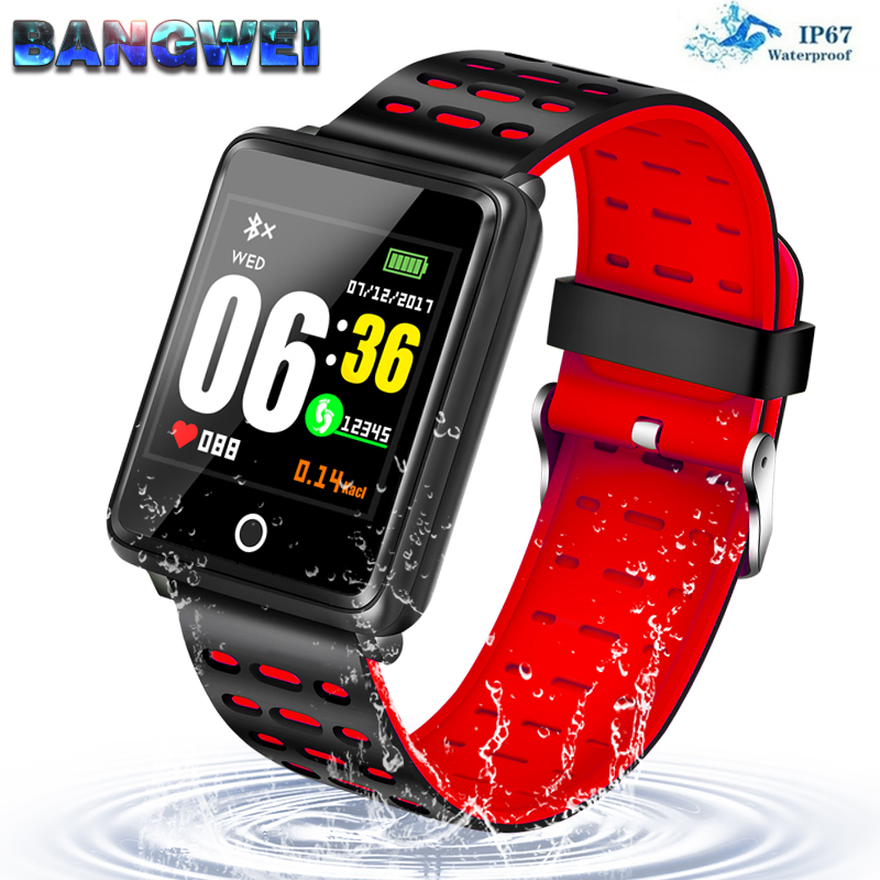 BANGWEI Smart Watch Women Men Smart Bluetooth Fitness Sport Watches for Waterproof Heart Rate Monitor Smartwatch For IOS AndroidBANGWEI Smart Watch Women Men Smart Bluetooth Fitness Sport Watches for Waterproof Heart Rate Monitor Smartwatch For IOS Android