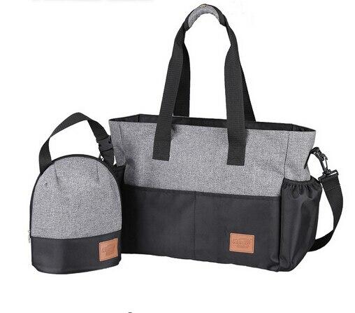 Dans 1 cadeau Designer bébé sacs pour maman momie sac à couches bébé poussette organisateur chariot landau accessoires Nappy sacs