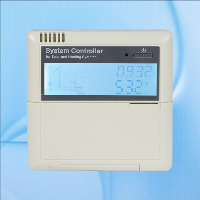 Solar Water Heater Controller SR81Q updated version of SR868C8Q with thermal energy measurement.pump speed controlSolar Water Heater Controller SR81Q updated version of SR868C8Q with thermal energy measurement.pump speed control