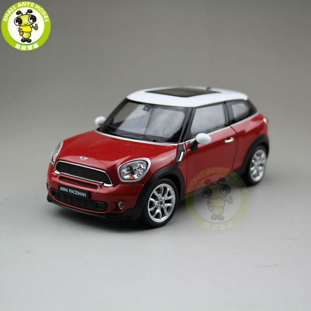 1/24 Mini Cooper S Paceman Welly 24050 Diecast Model Car Red