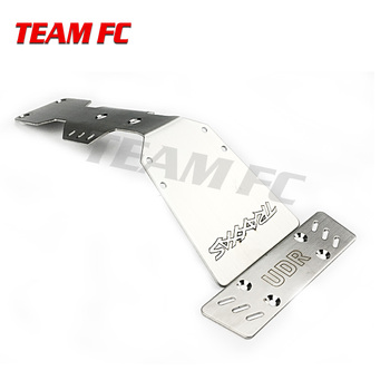 1pcs RC Car Armor plate chassis protection UDR Short 1:7 Rear Straight Bridge Brushless Off-road Vehicle Desert Race S229