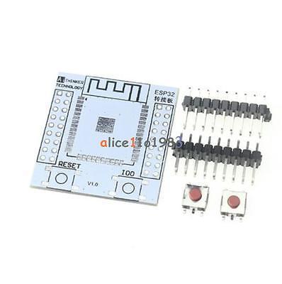 For ESP-32S Adapter Board Pinboard Convertor ESP32S Wireless WIFI Module