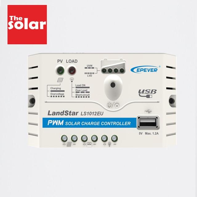 Landstar LS0512EU LS1210EU LS1024EU LS2024EU LS3024EU 5A 10A 20A 30A Güneş şarj regülatörü Epsolar şarj Regülatörleri 5 V USB