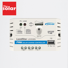 Landstar LS0512EU LS1210EU LS1024EU LS2024EU LS3024EU 5A 10A 20A 30A Solar Charge Controller Epsolar charger Regulators 5V USB