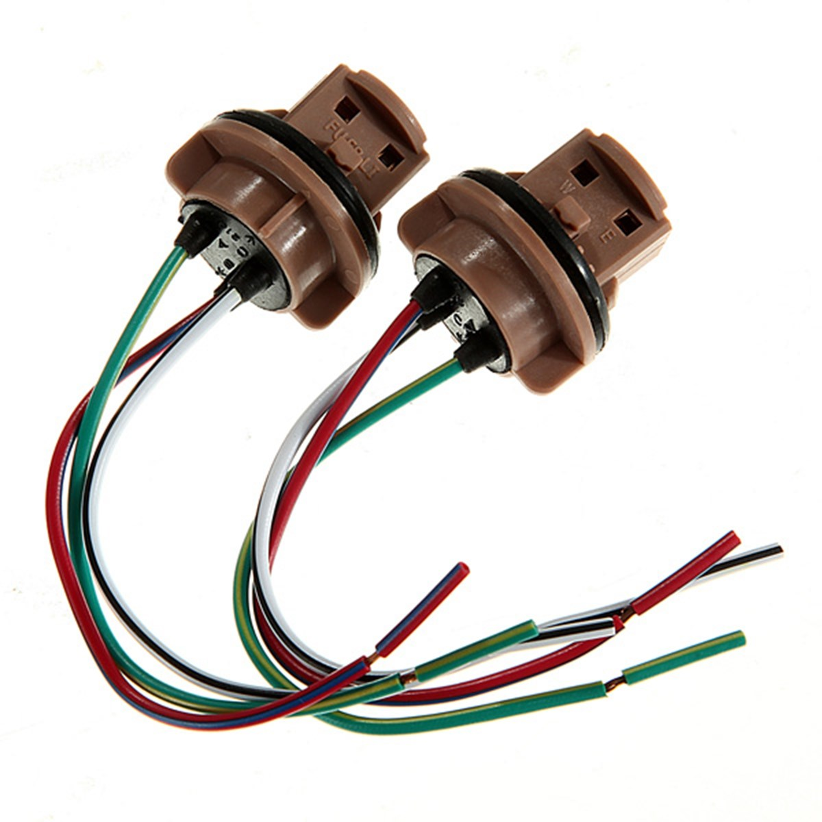 2x 7440 7443 T20 LED Lead Stereo Radio Wiring Harness Connector Socket Adaptor Brake Light Cable 2x 7440 7443 t20 led lead stereo radio wiring harness connector Wiring Harness Diagram at soozxer.org