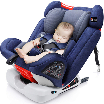 ISOFIX Baby Car Safety Seats Adjustable Child Car Seat 0-12Y Large Angle ComfortInterface Car Safety Seats Suit For 9-36KG