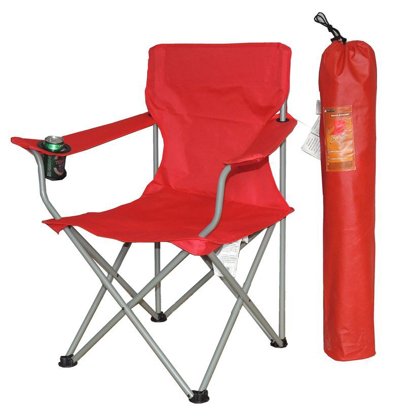 Ultra Light Folding Chair Seat with High Backrest Outdoor Portable Camping Fishing Chair Beach Chair 600D
