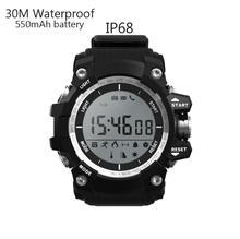 Sports Health Smart Watch IP68 Waterproof Altitude Meter Pedometer Bluetooth 4.0 for IOS Android Smartwatch 30M Waterproof pk F2