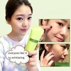 Natural Lemon Facial Cleanser Soft Organic Facial Exfoliating Cream Whitening Peeling Cream Gel Face Scrub Facial Care