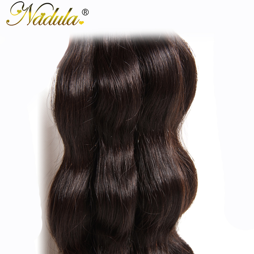 Nadula Hair  Body Wave  1 Piece Hair  Bundle 8-30inch  Hair Natural Color  5