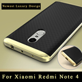 Xiaomi Redmi Note 4 Case Оригинальный ipaky бренда Xiaomi Redmi Note 4 Pro силиконовые Задняя Крышка + PC Рамка Для Xiaomi redmi Примечание case