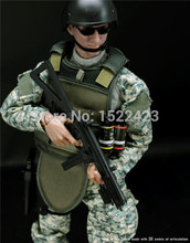 Military Combat Soldier model 12 1/6 Jungle ACU Action Figure Model Toys for Gift