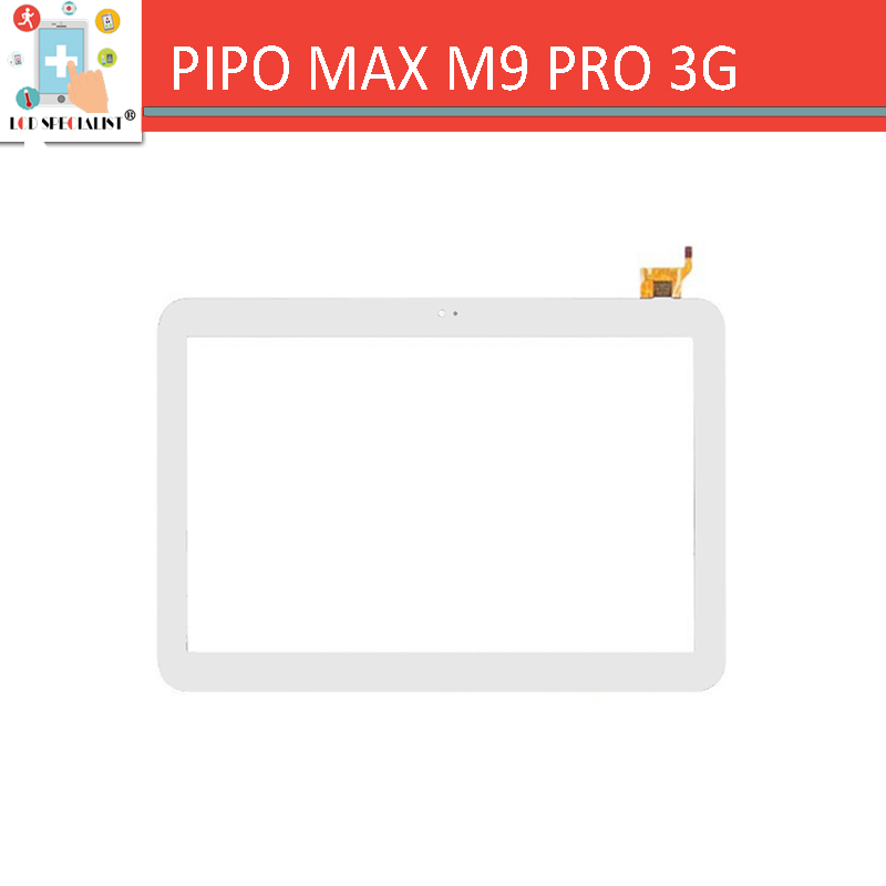 NEW White 10.1 Inch Touch Screen WGJ10122A-YN Version For PIPO MAX M9 PRO 3G Tablet PC Digitizer Glass Replacement
