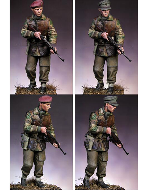 Assembly Unpainted Scale 1/16 WW2 British standing soldier 120mm figure Historical WWII Resin Model Miniature Kit