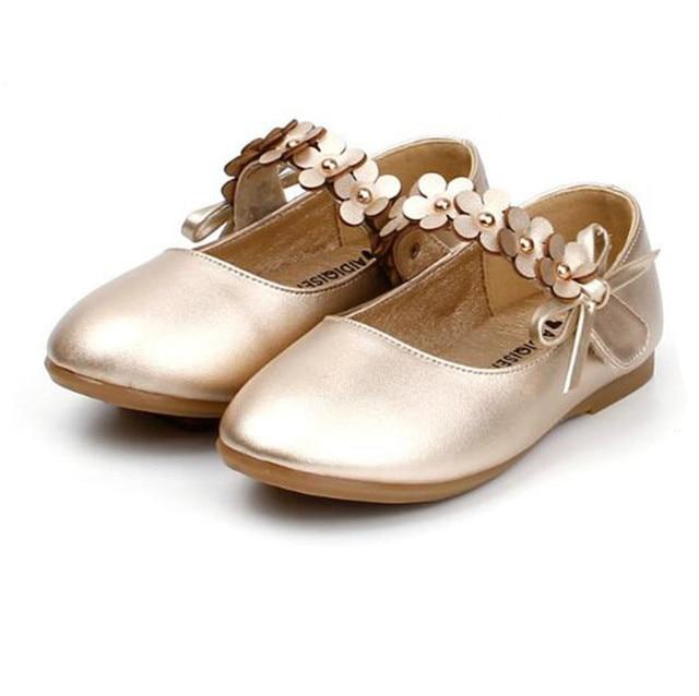 Weoneit Girls Shoes White Black Gold