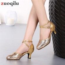 Свадебные туфли-лодочки на высоком каблуке 5,5 см; цвет золотистый, Серебристый; женская обувь на низком каблуке; вечерние женские туфли; chaussure femme talon;# H30