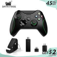 DATA FROG 2.4G Wireless Game Controller Joystick For Xbox One Controller For PS3/Android Smart Phone Gamepad For Win PC 7/8/10 недорого