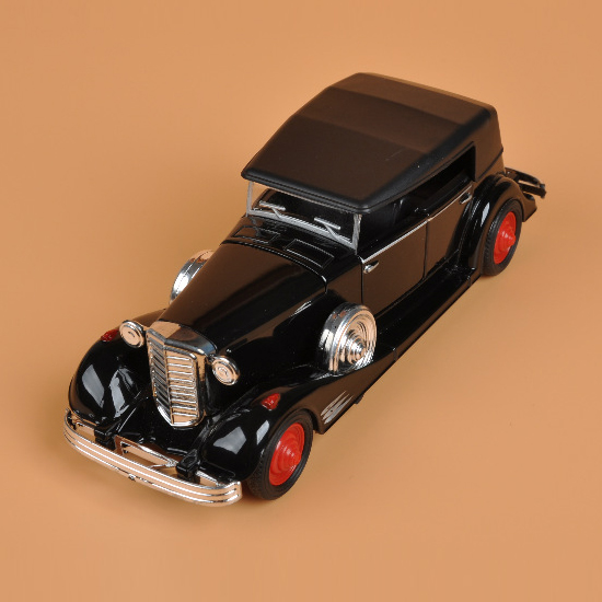 1:28 Rolls-Royce Alloy Model Car Classic Retro Mini Collective car Model Toy Pull back Acousto-optic rambo lp 750 toy alloy car models 1 32 simulation children acousto optic car model