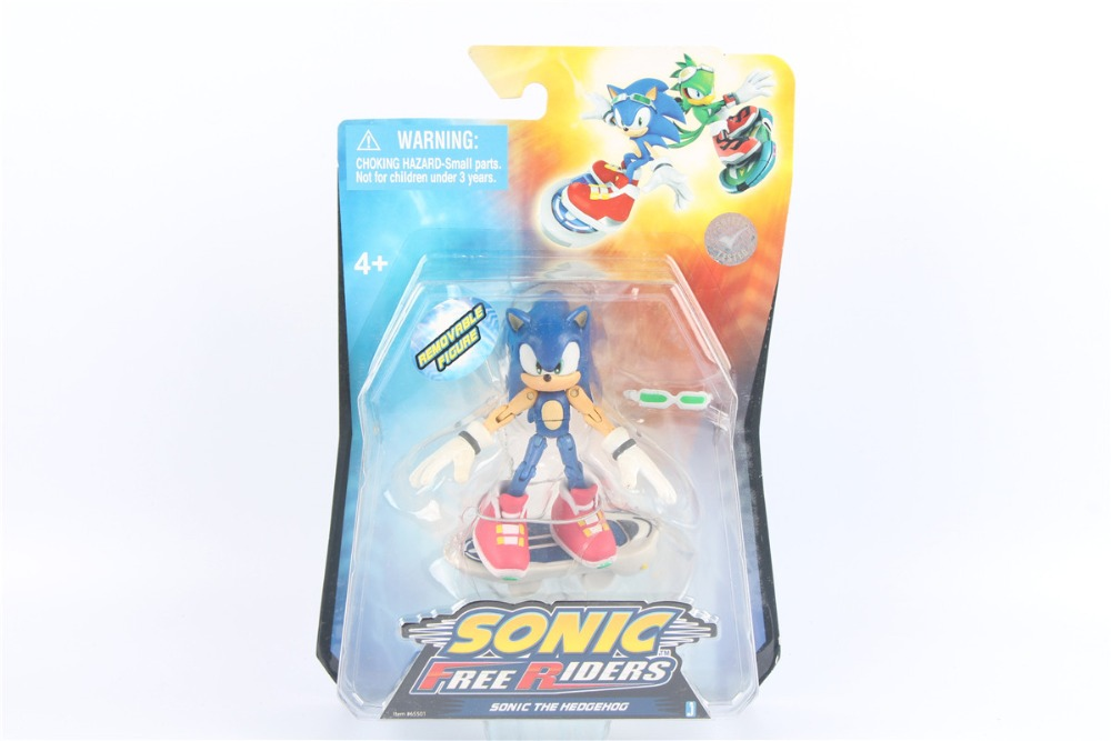 цена на Sonic Free Riders SONIC THE HEDGEHOG action figure 3.5 (9 cm)