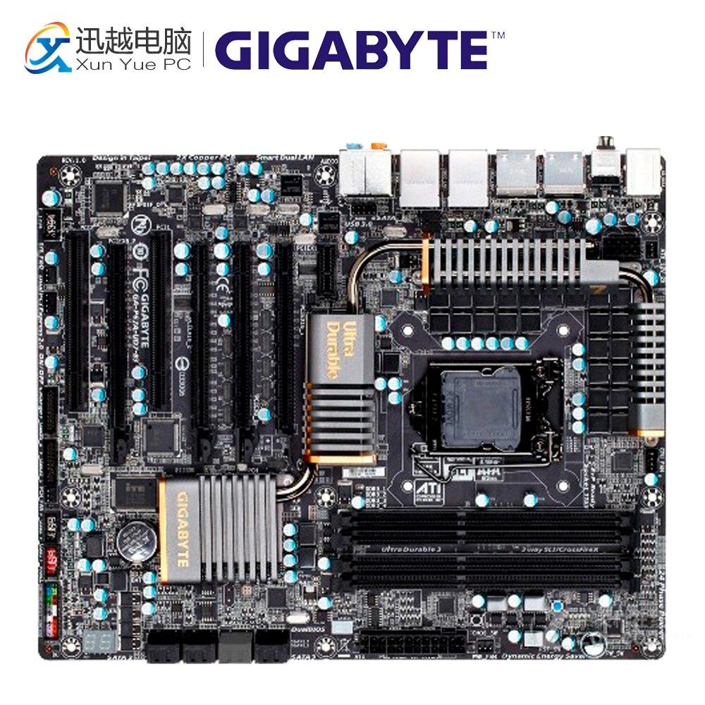 Gigabyte GA-P67A-UD7-B3 Desktop Motherboard P67A-UD7-B3 P67 LGA 1155 i3 i5 i7 DDR3 32G SATA3 ATX original desktop motherboard for gigabyte ga p67a ud3p b3 ddr3 lga1155 p67a ud3p b3 32gb p67 desktop motherboard free shipping