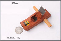 100MM 4INCH Mini Size Rose Hardwood And Edged Blade With Brass Insert Woodworking Plane Carpenter Plane