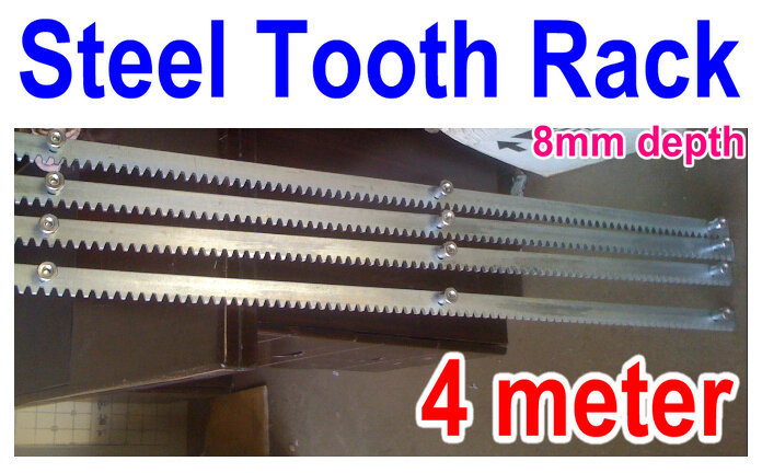 4 Meter Length Steel Gear Tooth Rack For Sliding Gate