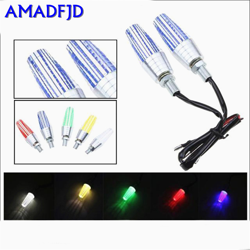 Motorcycle LED turn signal modified lighting street running modified turn lights direction lights lights