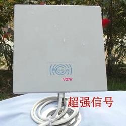 14db 2.4 gmhz sem fio wifi wlan antena do painel ao ar livre com 70 cm cabo pçs/lote
