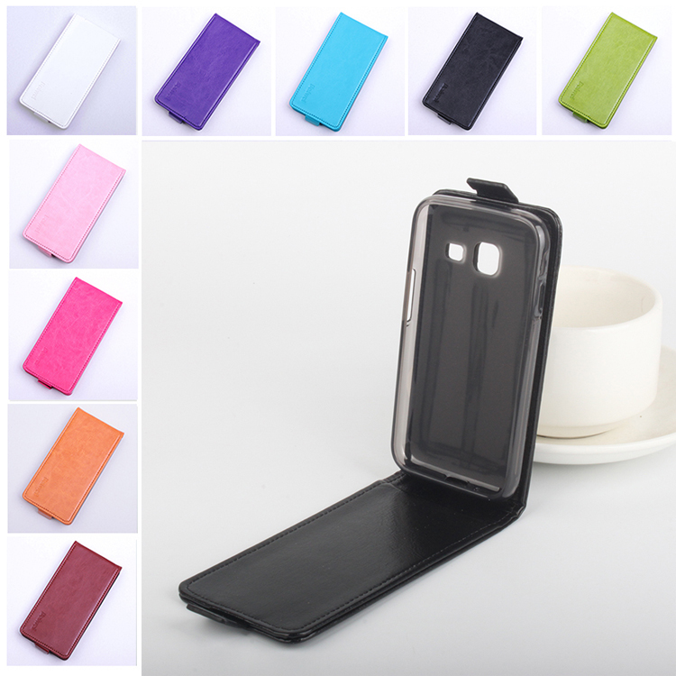 9 colors Flip Cover for Samsung Galaxy J1 Mini J105 J105H J105F Vertical Back Cover Leather Case for Samsung Galaxy J1 Nxt