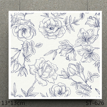 AZSG  FLOWER Beautiful Clear Stamps/Stamp/For Scrapooking/Card Making/Silicone Stamps/Decoration Crafts