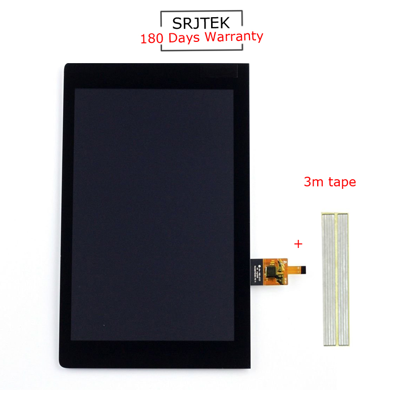 For New Lenovo YOGA YT3-850M YT3-850F YT3-850 ZA09 Replacement LCD Display Touch Screen Assembly 8-inch Black for lenovo yoga yt3 850m yt3 850f lcd display with touch screen digitizer assembly original free shipping with tracking number