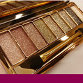 9 Colors Radiant Eyeshadow Makeup Earth Color Eyeshadow Palette Naked Smoky Professional Cosmetic With Brush