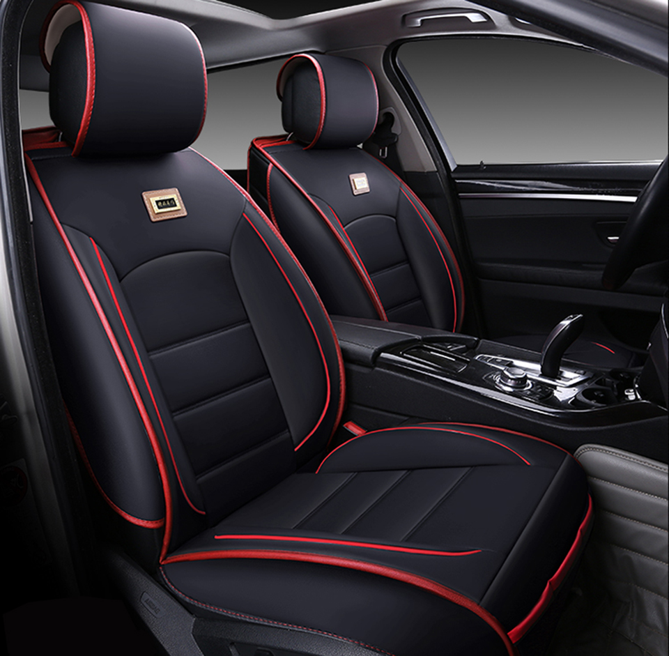 Universal Leather Car Seat Covers For Mazda 2 3 5 6 323 Axela Atenza Protege Miata Tribute CX Accessories Styling In Automobiles From