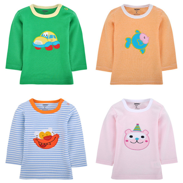 Long Sleeve Baby Tops