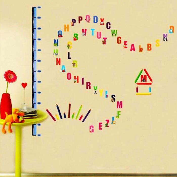 hot sale Bedroom Livingroom Decoration Colorful English alphabet ...