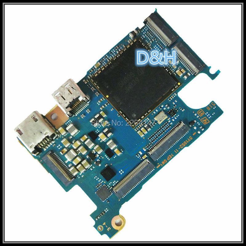 100% originale della scheda madre/scheda principale/pcb parti di riparazione per sony dsc-rx100m4 rx100iv rx100-4 rx100 m4 fotocamera digitale