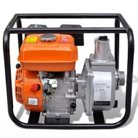 VidaXL Water Pump Motor Petrol 50 MM Connection 5.5 HP Solid Steel Water Pump For Garden Water Supply And Irrigation System|Furniture Accessories|   -