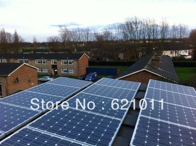 5KW home solar power system, off grid solar generaror include solar panel, inverter, battery can be added